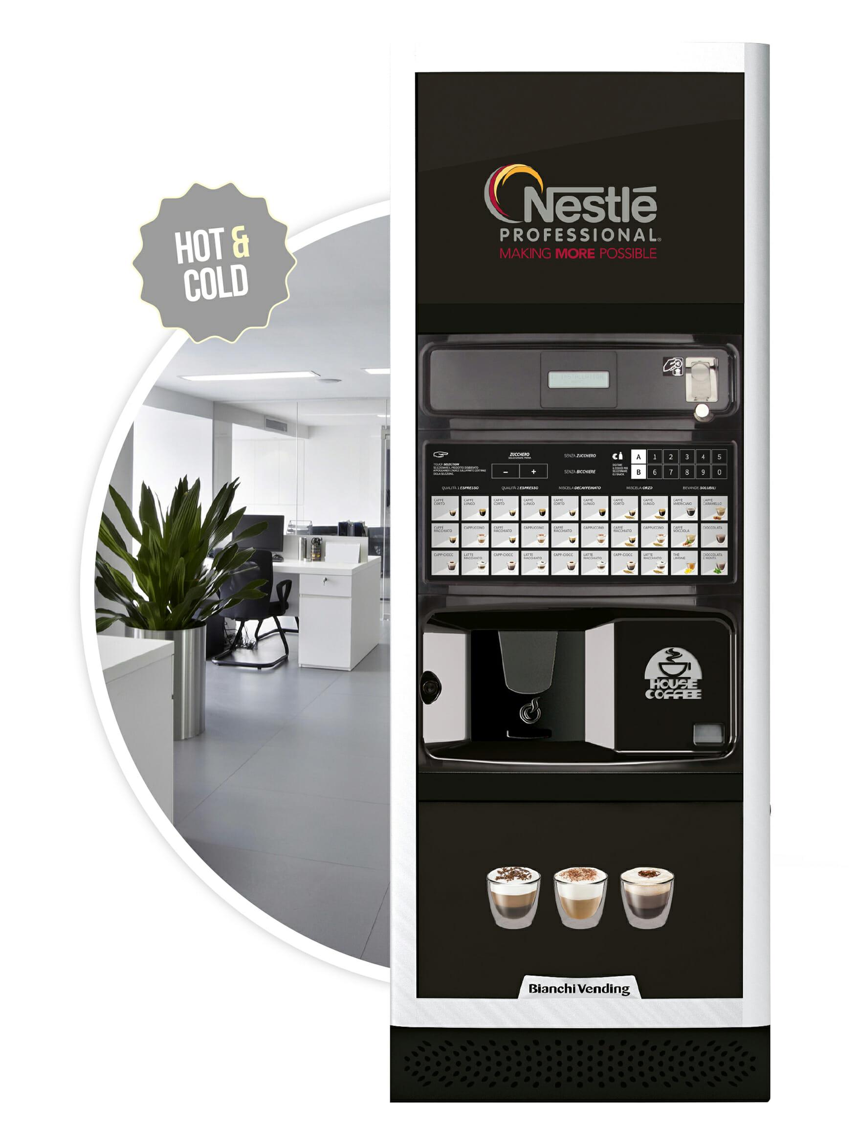 Imagen de la cafetera Barista. Maquinas de cafe para empresas.