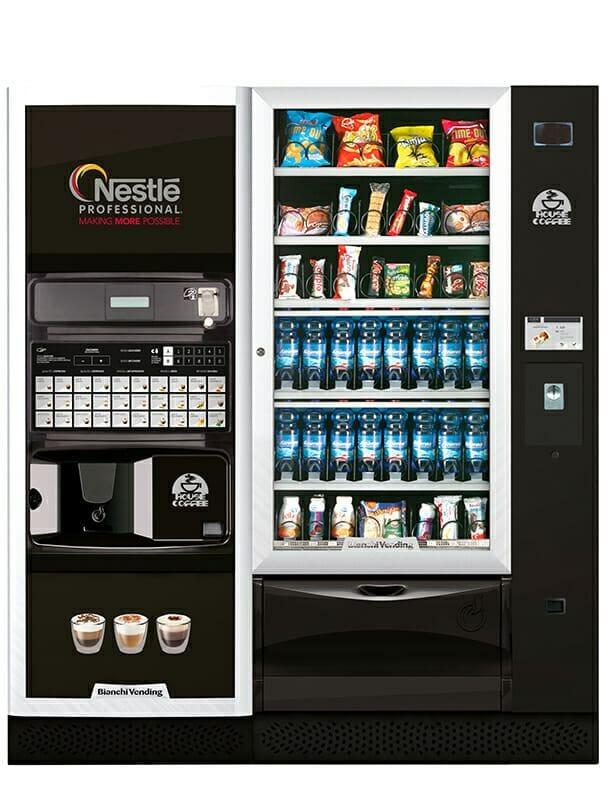 Máquina combi de vending