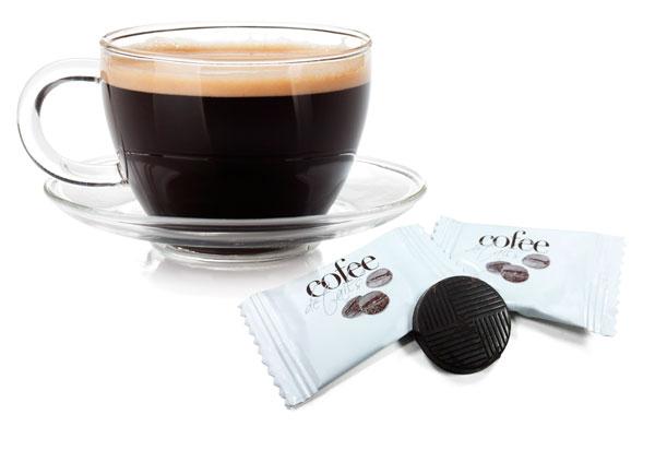 Imagen de las chocolatinas individuales Cofee Details