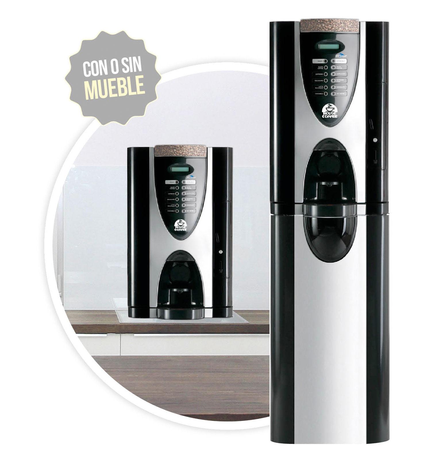Imagen de la cafetera Eclipse. Maquinas de cafe para empresas.