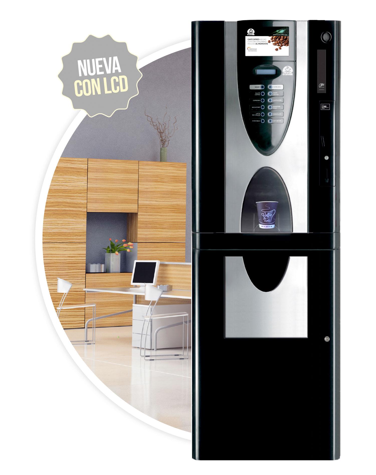 Imagen de la cafetera Eclipse XL Blanco. Maquinas de cafe para empresas.