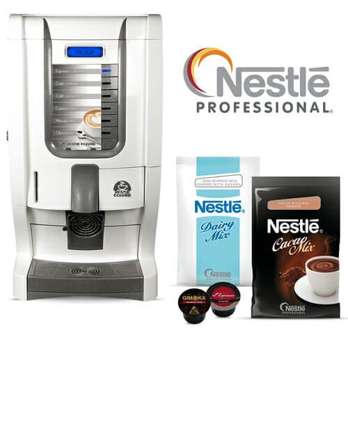 Imagen cafetera Italycup. Más de 6 consumiciones diarias. Maquinas de cafe para empresas.