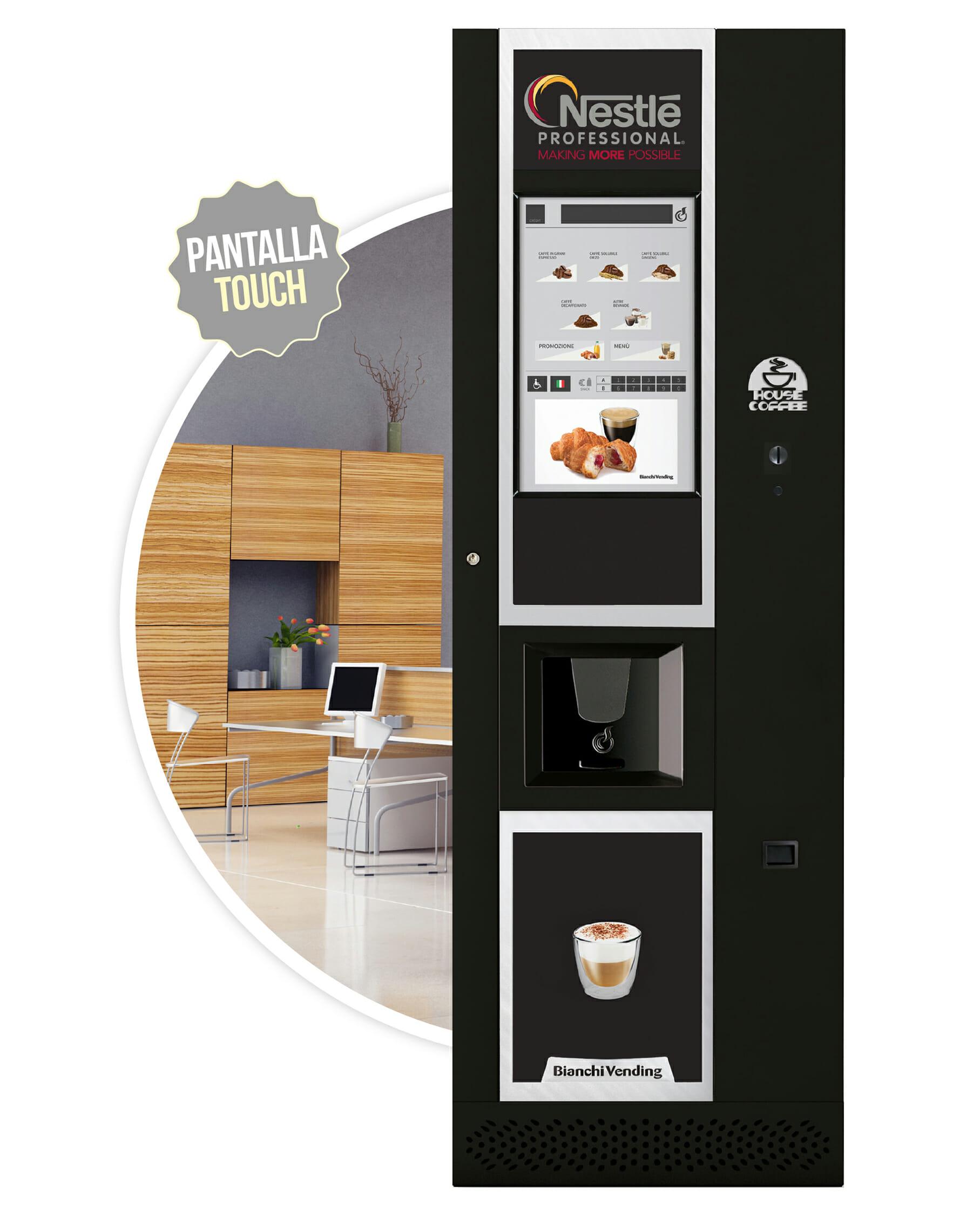 Imagen de la cafetera Verso XL. Maquinas de cafe para empresas.